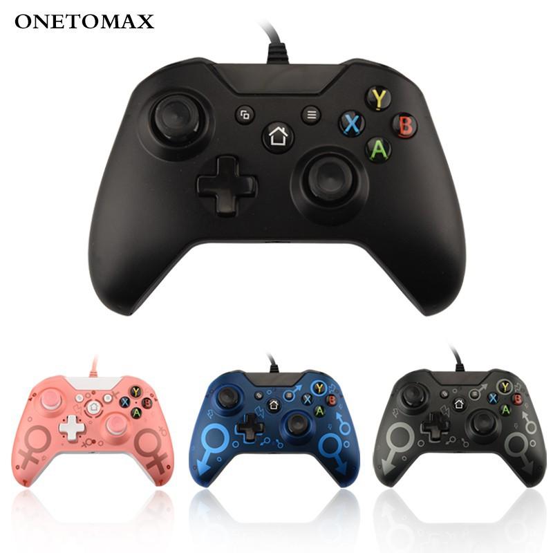 【台灣現貨】新款XBOX ONE有線手把 遊戲手把 主機遊戲控制器 X-ONE遊戲手把兼容PC情侶款