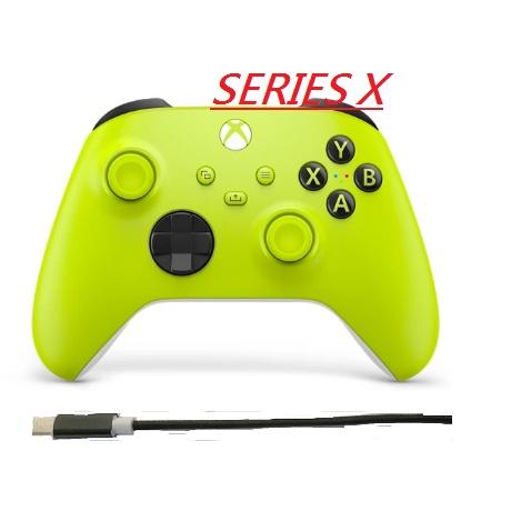 Xbox one/xbox Series X無線控制器/手把(電擊黃)