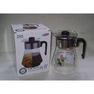 (玫瑰Rose984019賣場)台灣製~亞美 冷熱兩用 玻璃壺(水壺)2000CC~可當泡茶壺.冷水壺(耐熱150度) 新北市