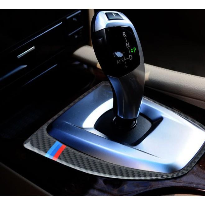 真碳纖維 寶馬BMW排檔 卡夢 排檔 中控框 E60 E61卡夢內裝 卡夢檔位貼 碳纖裝飾貼 E60改裝 520 535