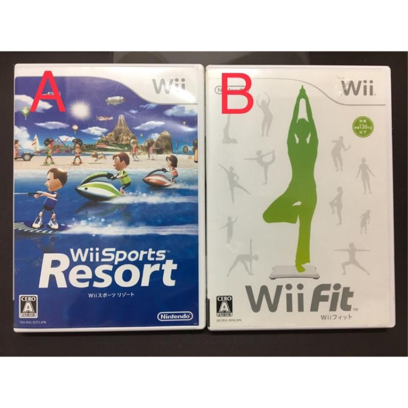 日本帶回 Wii 度假勝地 渡假勝地 Fit 二手 遊戲 體感遊戲 日版 正版