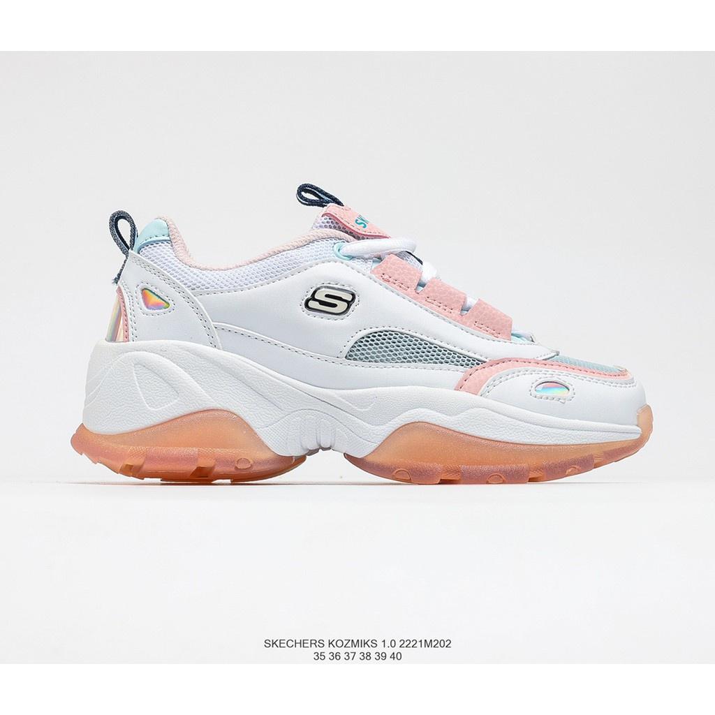 Skechers KOZMIKS 1.0 厚底老爹鞋情侶鞋女果凍鞋運動鞋
