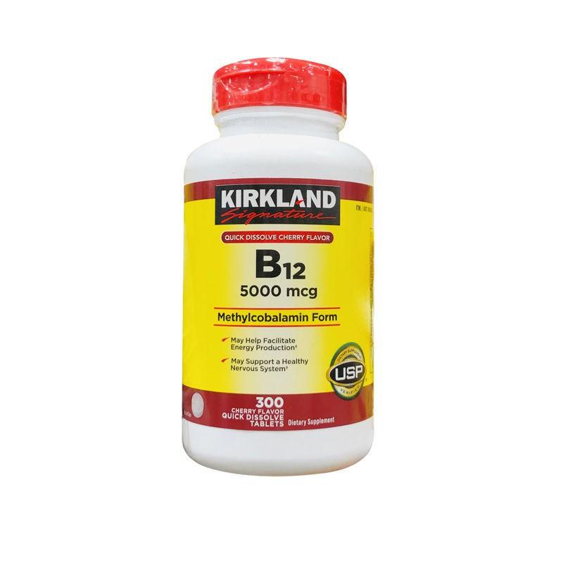 【G Life】Kirkland柯蘭克Vitamin B12 5000mcg含服維生素B12 300粒