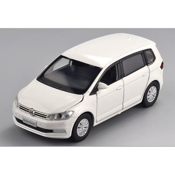 「車苑模型」 JKM 1:32 Volkswagen VW Touran L 途安 聲光 迴力