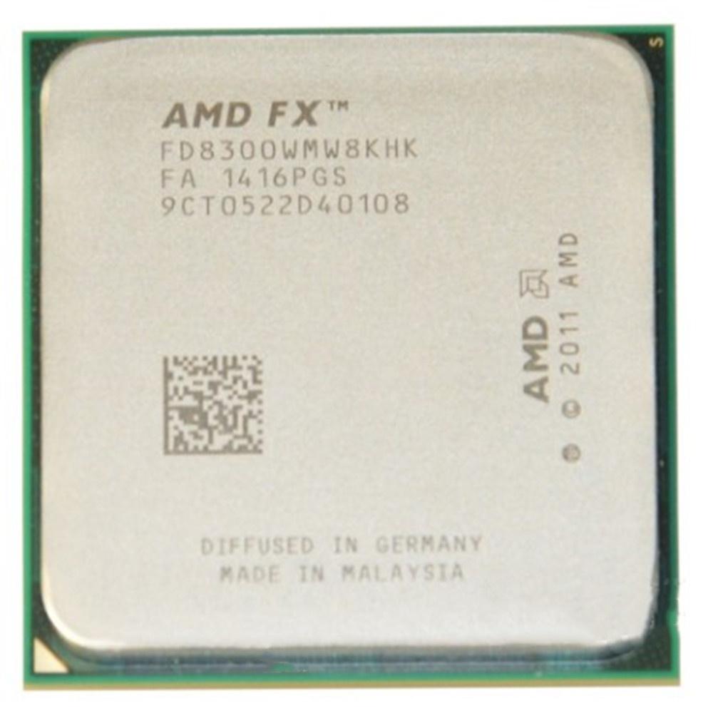 代購優選AMD FX8300 8320 8350 8100 8120 8150CPU八核臺式電腦處理器散片