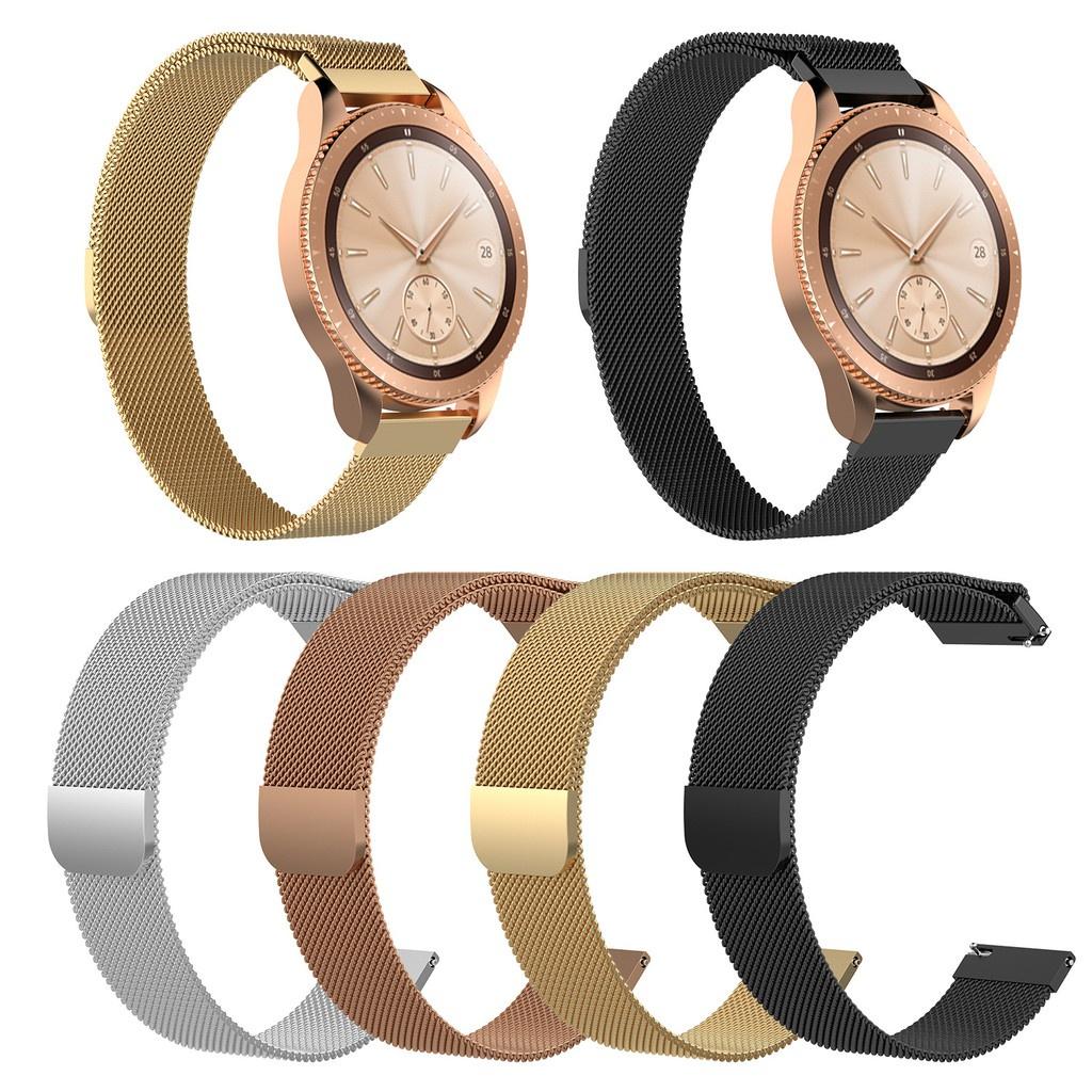 Garmin Vivolife錶帶 米蘭金屬錶帶 Vivolife悠遊卡智慧手錶 替換腕帶磁吸錶帶✨向華