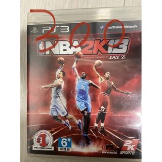 PS3 二手遊戲 ( NBA  2K13 中文版  )200 桃園市