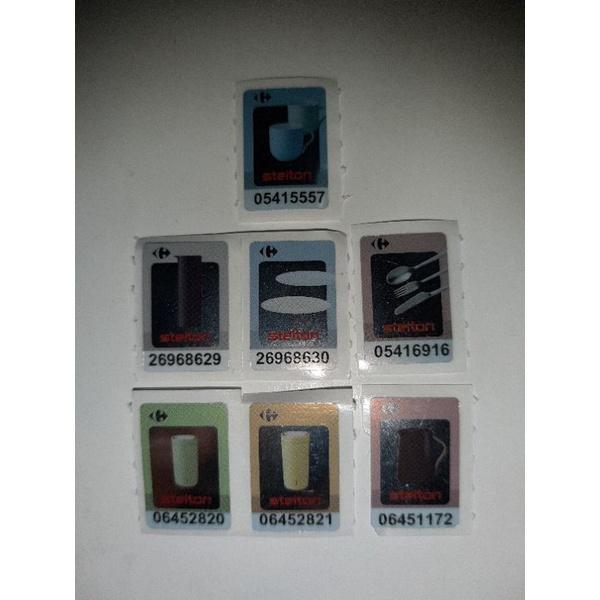 家樂福stelton & evasolo貼紙(Carrefour stelton & evasolo Stickers)