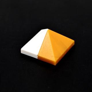 [8-5]國產小顆粒積木DIY 兼容3048零配件  1x2/ 45度 金字塔尖 10個