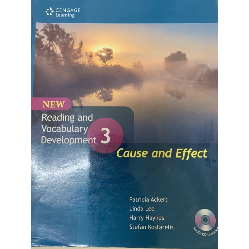 Reading and Vocabulary Development 3 Cause and Effect