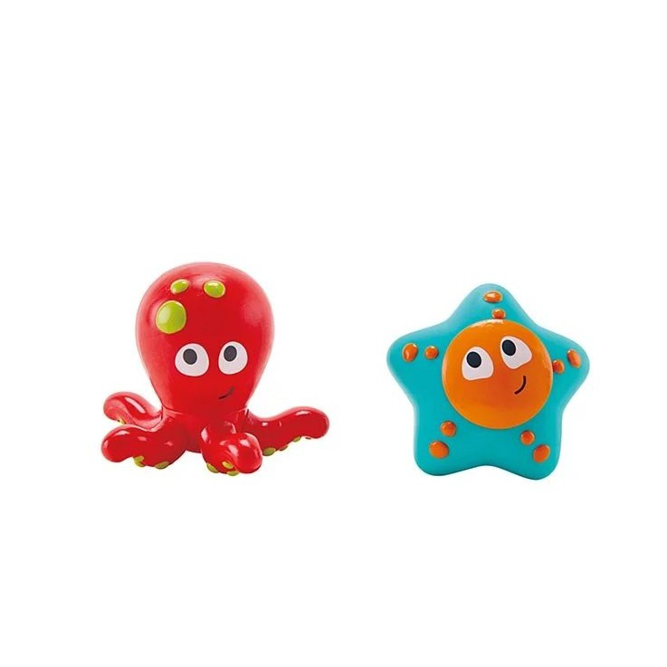 【魔法世界】章魚與海星