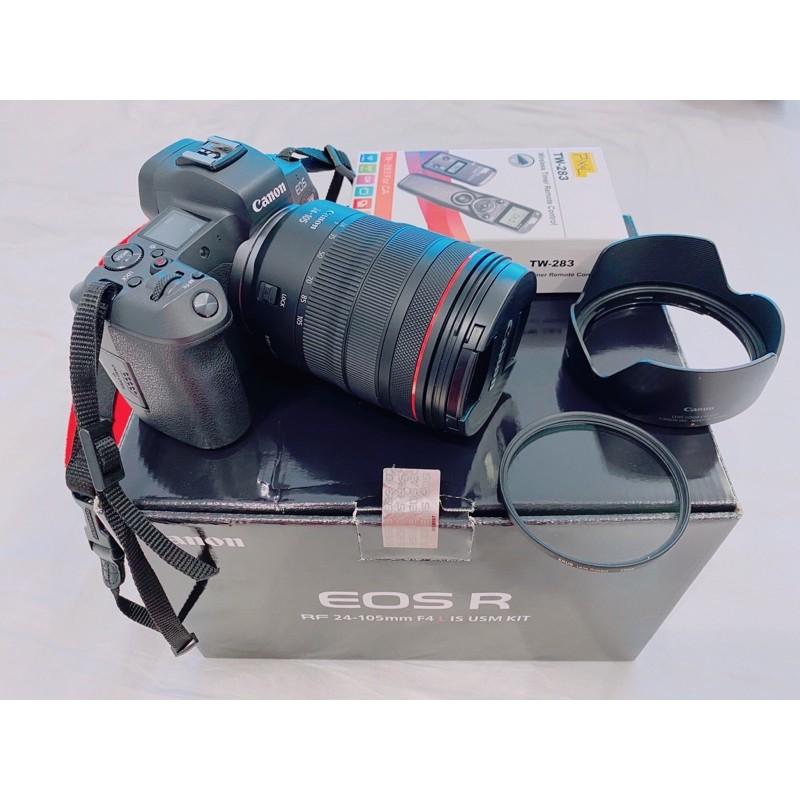 Canon EOS R & RF24-105mmf4L IS USM 公司貨 二手