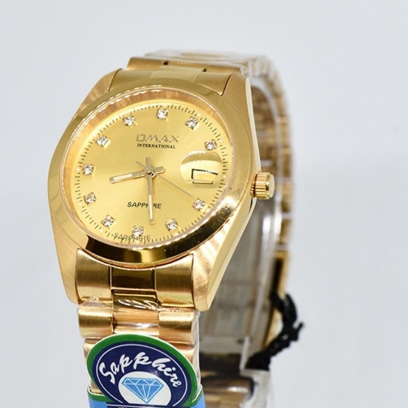 OMAX不銹鋼防水手錶