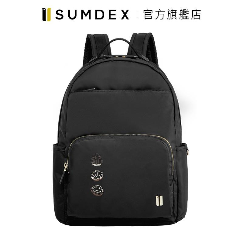 Sumdex 經典輕商務後背包(真果版) NON-783BK-HN 黑色 官方旗艦店