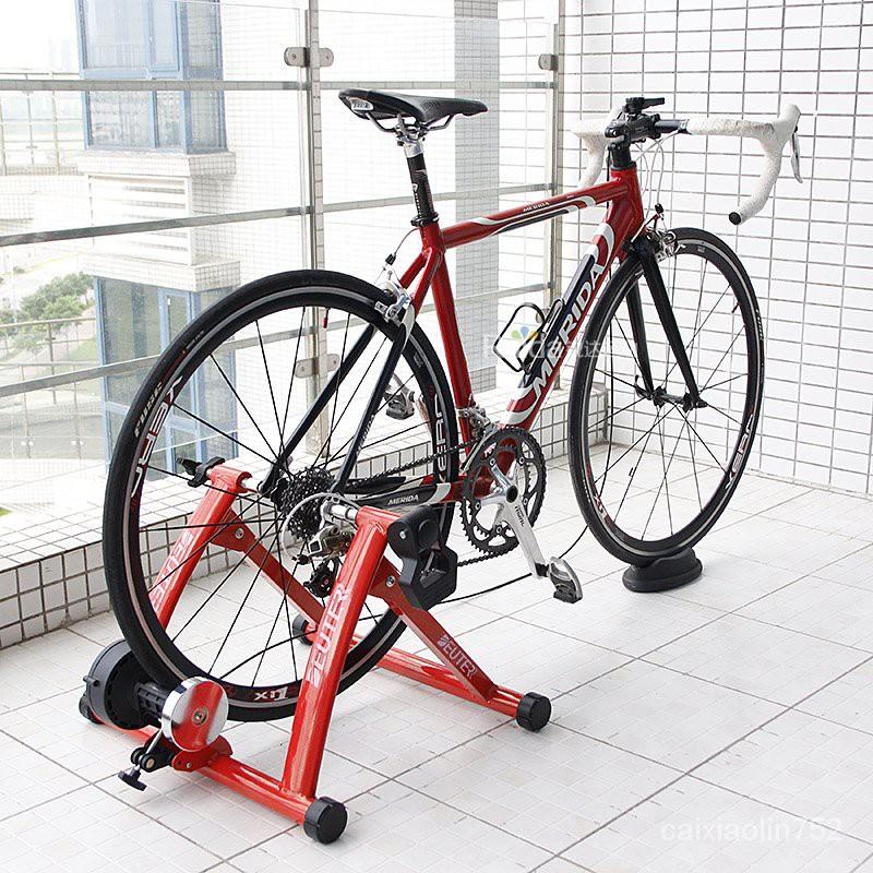 DEUTER自行車室內騎行台山地車磁阻訓練台家用公路車訓練架騎行器