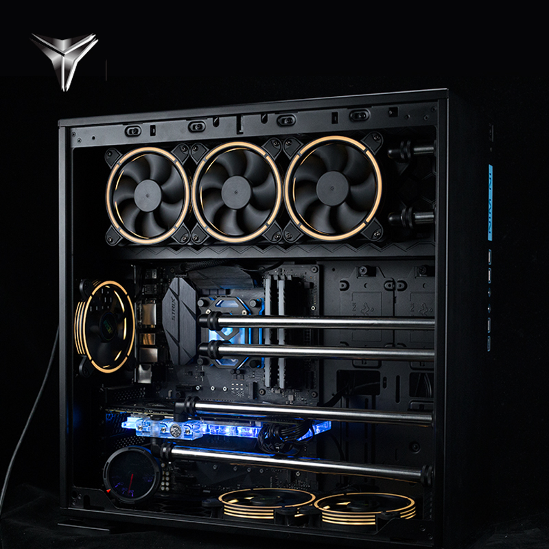 【前沿科技賣場】AEGIR X GTX1070TI 1080TI迎廣303分體式水冷銅管訂制水道板主機