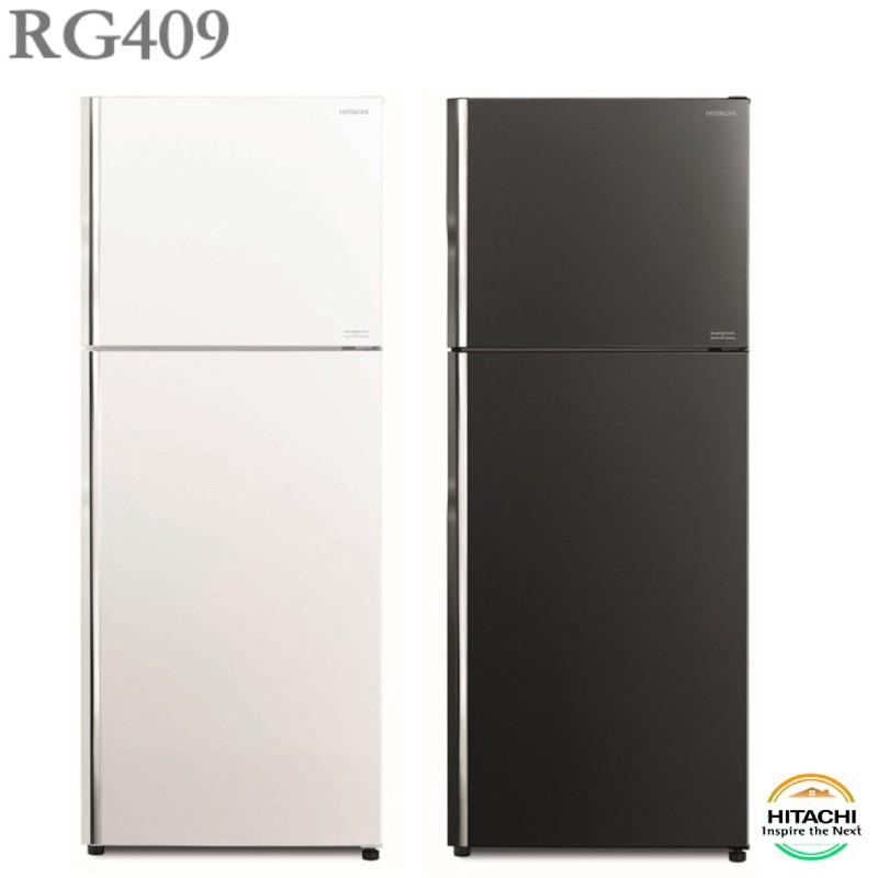 HITACHI日立 403公升變頻雙門冰箱 『 RG409 』歡迎使用聊聊