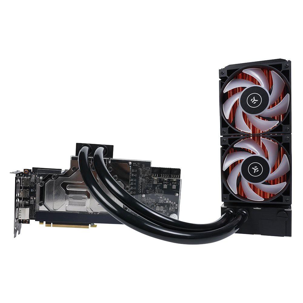 定製RTX3080/3090顯卡CPU一體分體240/360水冷散熱器/悍將/匠