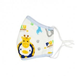 PUKU藍色企鵝防護安全口罩 M S 號 三層防護兒童純棉紗布口罩 防護、防塵 高雄市