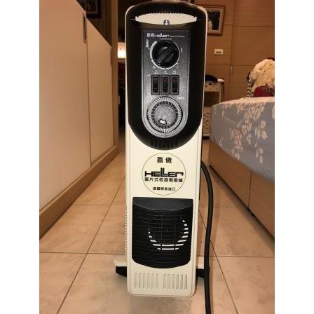 德國HELLER 嘉儀 葉片式定時電暖爐/電暖器-10葉片 KE10TF/KE-10TF(二手品)