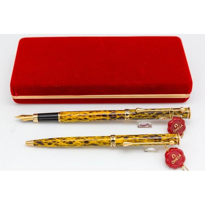【早期】 台灣製 OMEGA亞米茄 1200鋼筆 對筆 F尖