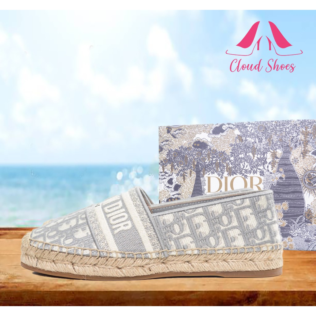 Christian Dior 迪奧 20s 春夏 漁夫鞋 女款休閒鞋