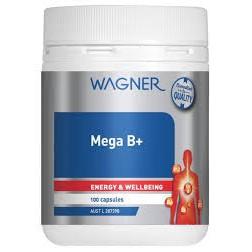 現貨/澳洲代購 Wagner Mega B+ (B群100錠 )