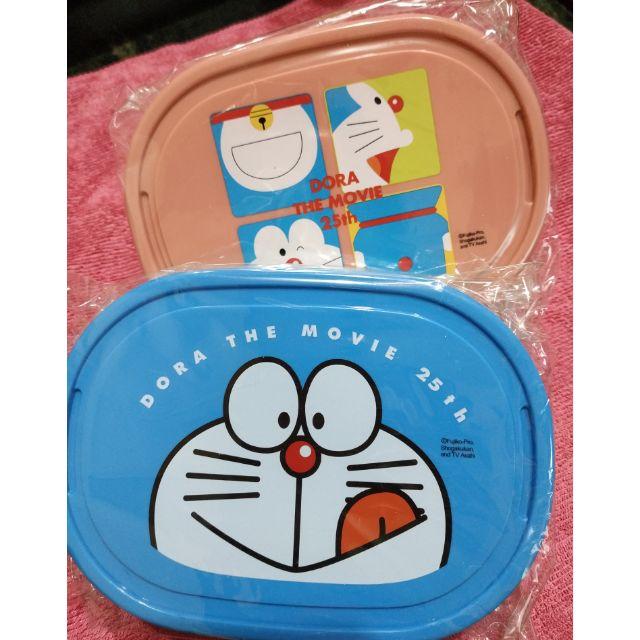 #哆啦A夢  #小叮噹  便當盒 附可愛包袱巾(可當手帕)