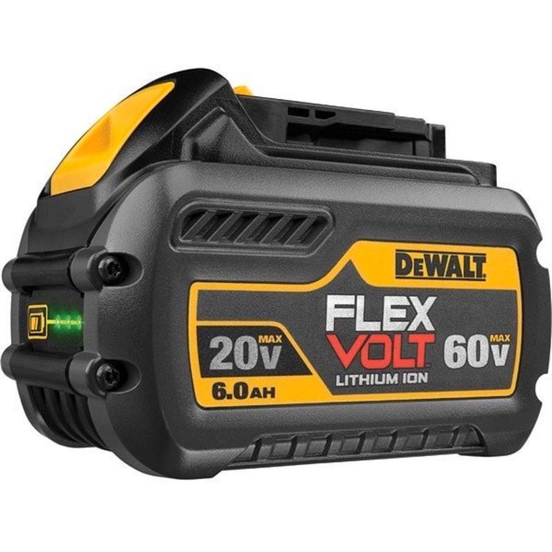 電池 DEWALT 得偉 60V XR 超鋰充電電池 2.0AH (20V 6.0Ah) DCB606(含稅)