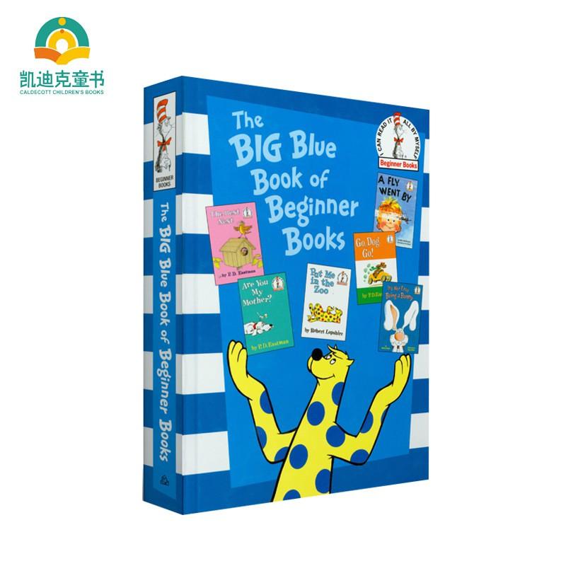 原版進口 蘇斯博士經典繪本 大藍書 兒童英語啟蒙 童書繪本