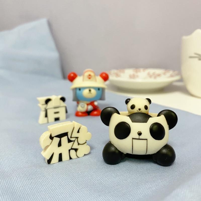 PANDA-Z 🐼 熊貓鐵金剛 • 扭蛋