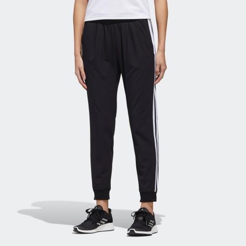 【吉喆】現貨 adidas MH WV PT 女款 撞色 三線 透氣 彈性 薄長褲 GF0112