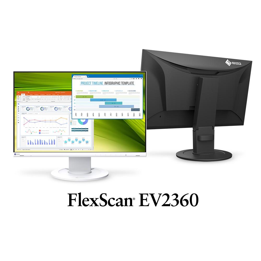 🌞摩卡普拉斯🌞EIZO FlexScan EV2360 黑色 23吋低藍光低閃頻顯示器