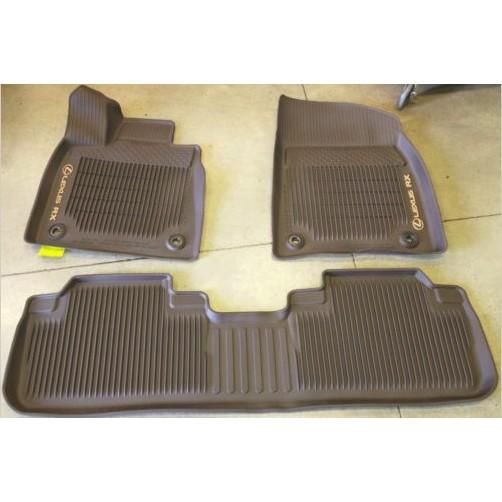 ㊣USA Gossip㊣ Lexus 原廠 RX300 RX350 RX450 RX350L 防水腳踏墊 腳踏板 三件式