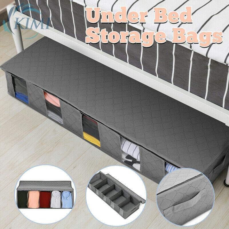 床下收納袋容器盒收納盒架下 97 * 33 * 15cm 節省空間