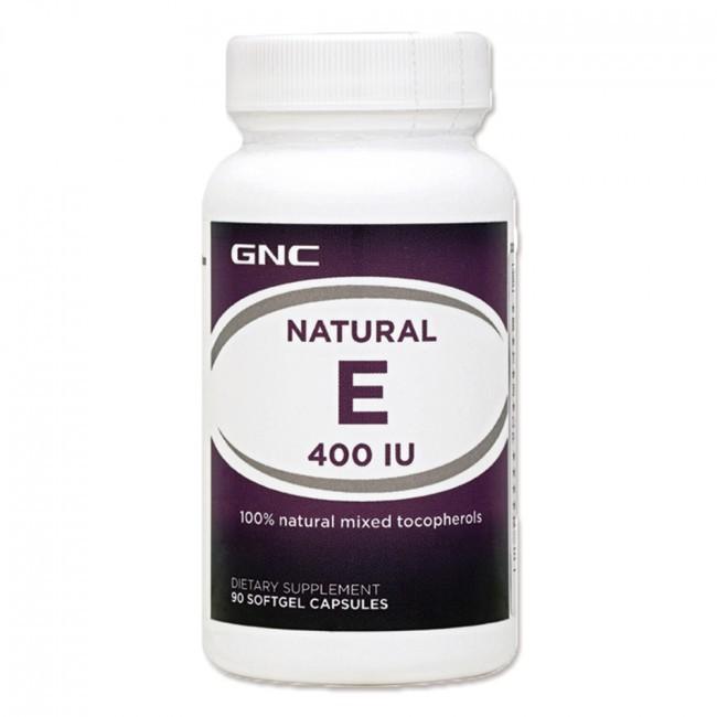 【GNC健安喜】維生伊400膠囊食品 90顆