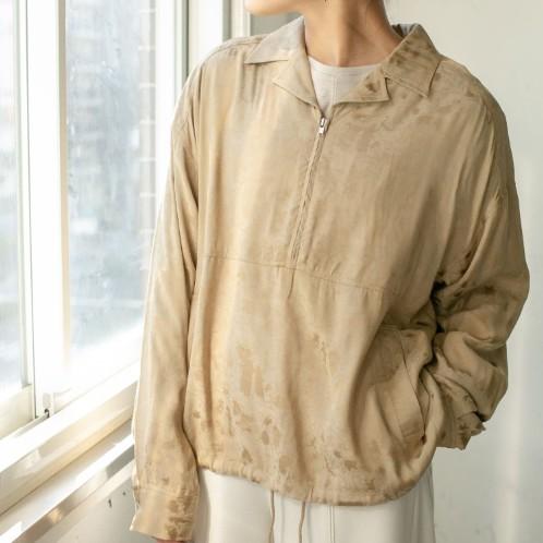 【KBF】半拉鍊開領套衫