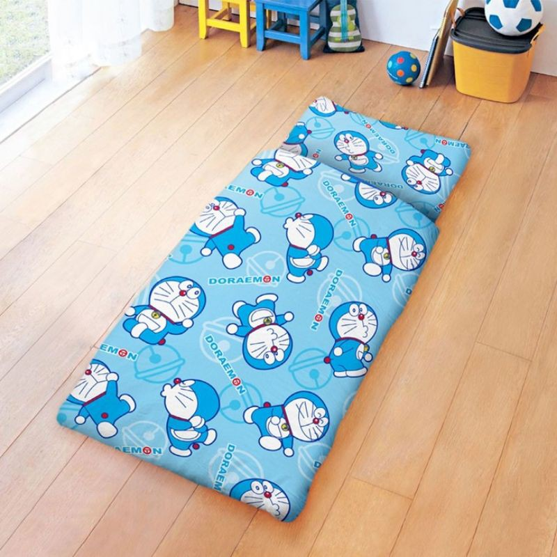 🌐免運可刷卡  好市多 100%純棉卡通兒童睡袋 150 x 120 公分 - 哆啦A夢 經典哆啦
