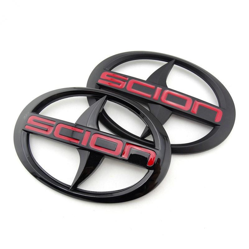 車標誌貼 前車標 Toyota scion mark yaris altis wish logo黑色 美規 車標 標誌