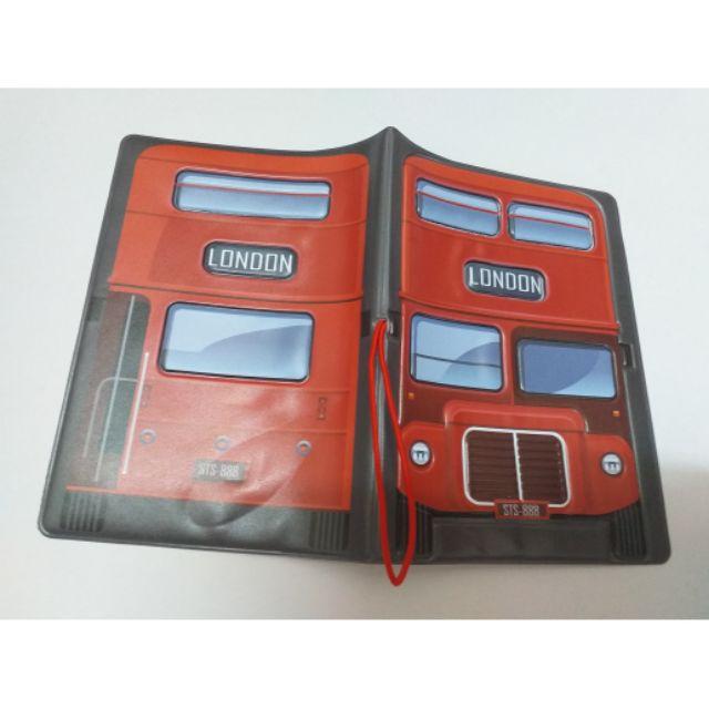 【現貨×全新】倫敦巴士護照夾