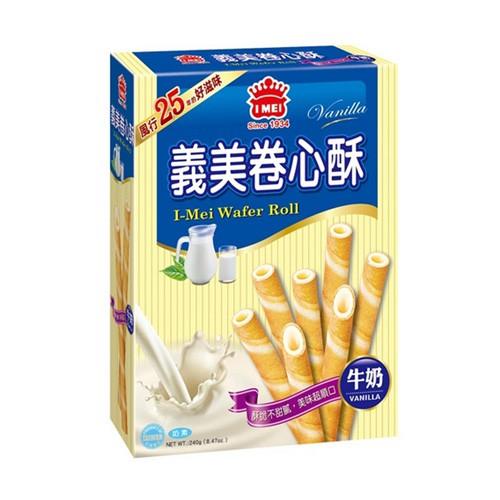 義美 捲心酥 牛奶/巧克力 75g