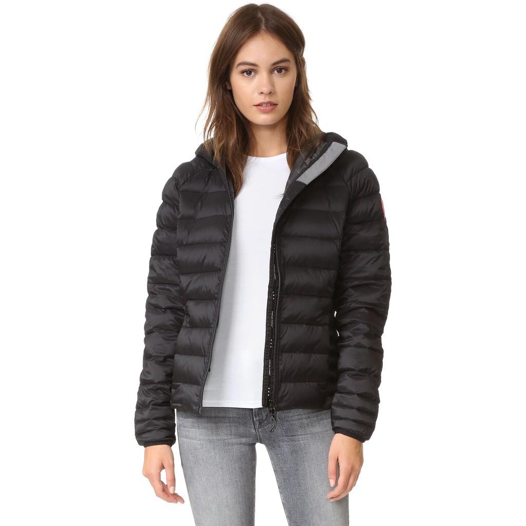 同款 Canada Goose 加拿大鵝Brookvale 黑色連帽羽絨外套 短版 Hooded Jacket 預購