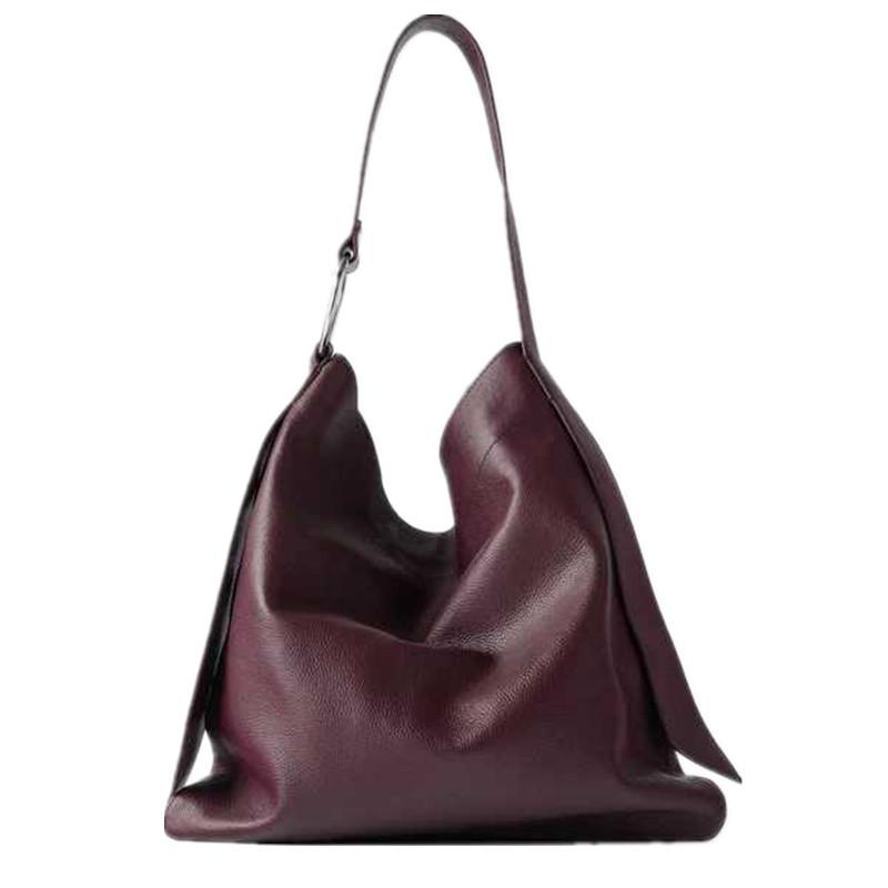 女包 2020新款 單肩包 軟包 大容量 時尚 百搭 手提包 托特包 女士包 女士單肩包 手提肩背