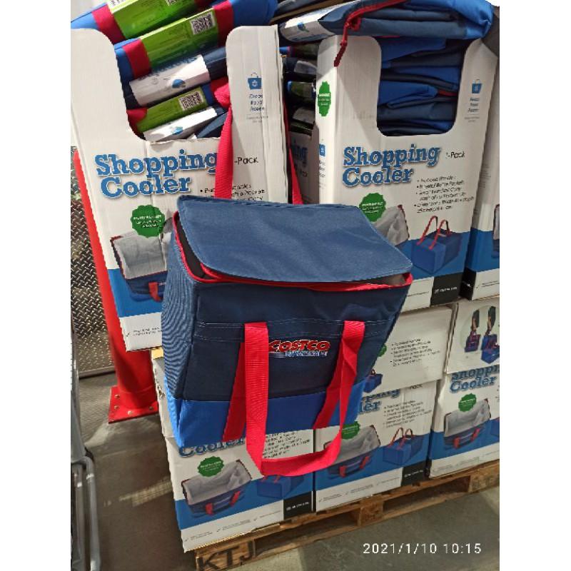 現貨1個-小型立體保溫保冷購物袋 好市多保冷袋 好市多保溫袋