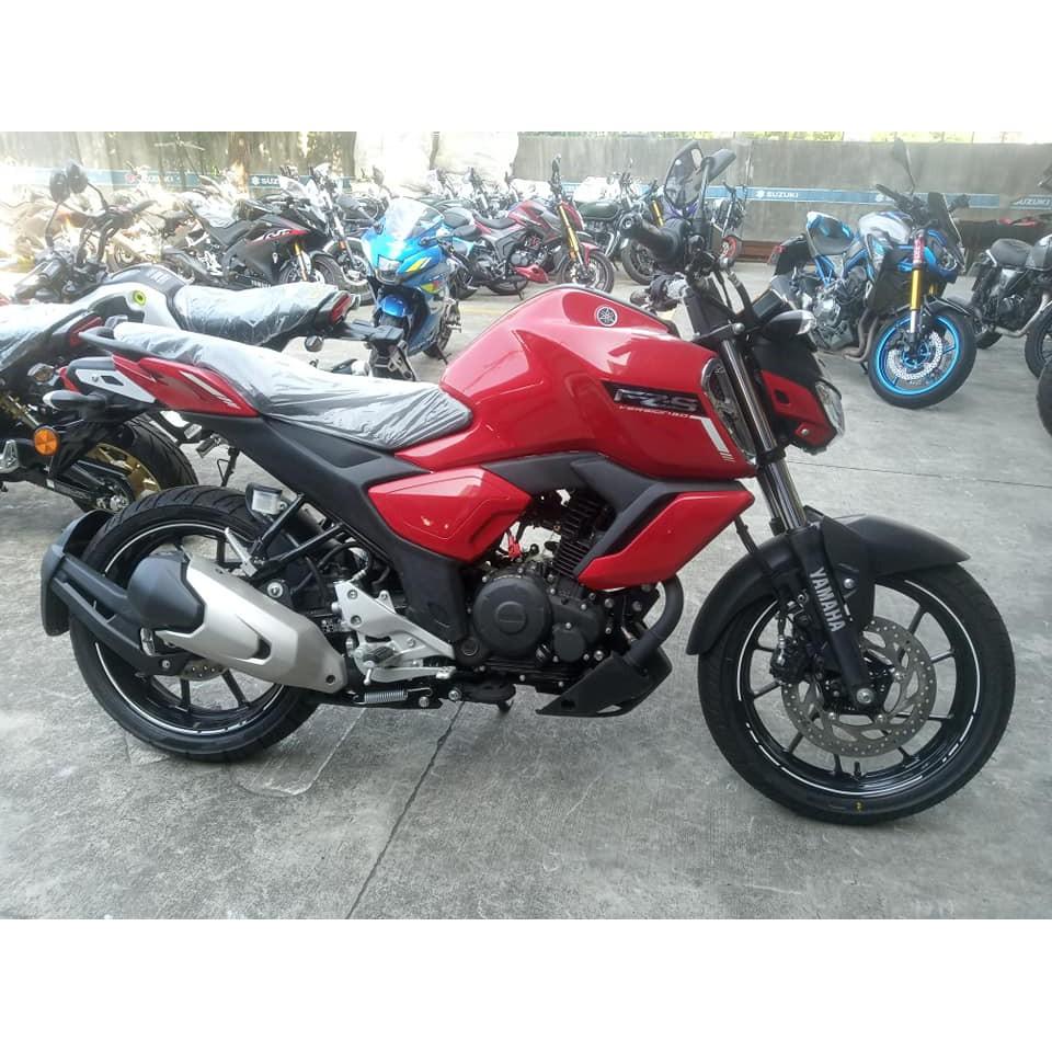 YAMAHA FZS-150 ABS 紅色特價8.8萬 現領牌 不用等 (榮立阿舟進口摩托車專賣)