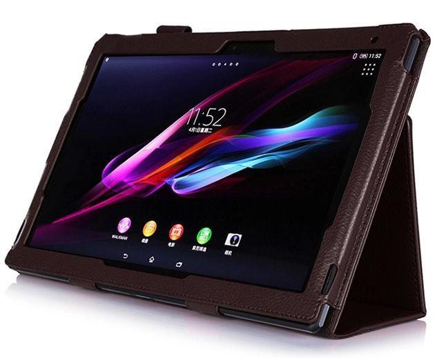 商務素色皮套適用於索尼Sony Xperia tablet Z Z2 Z4 10.1吋 平板電腦保護套 平板保護殼