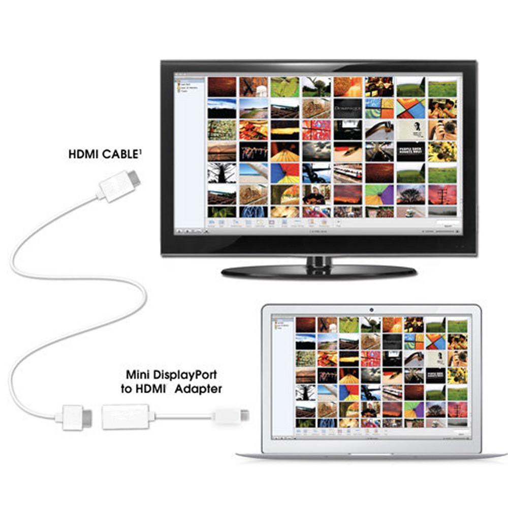新款Apple Display MacBook Air Pro的Mini Display Port DP轉HDMI電纜適