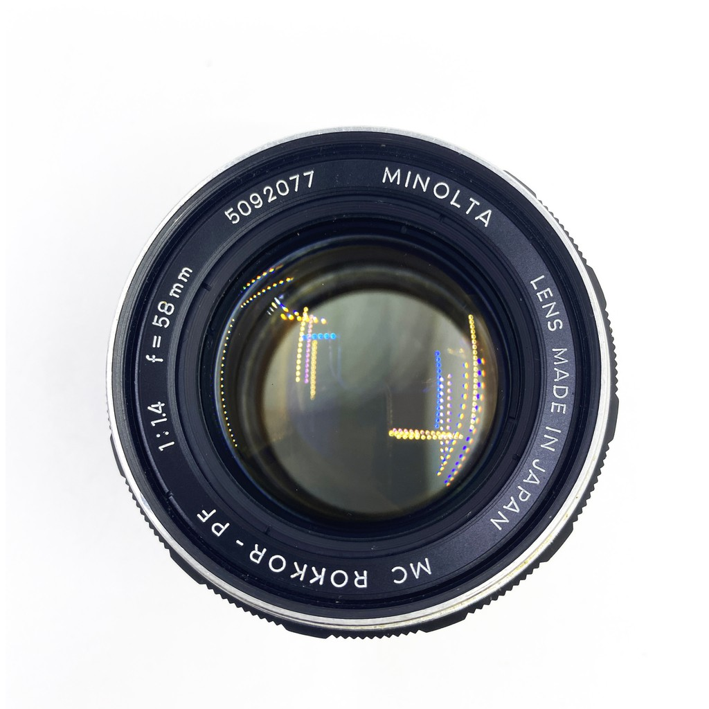 Minolta 58mm F1.4 MC ROKKOR-PF No. 5092077