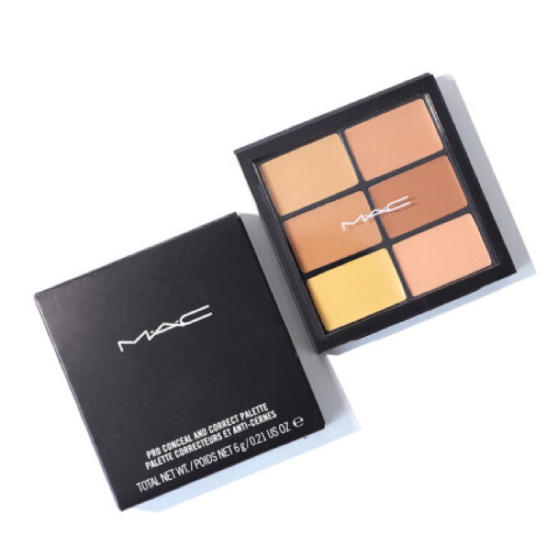MAC CORRECT AND CONCEALER 六色遮瑕盤 矯色 遮瑕膏 代購