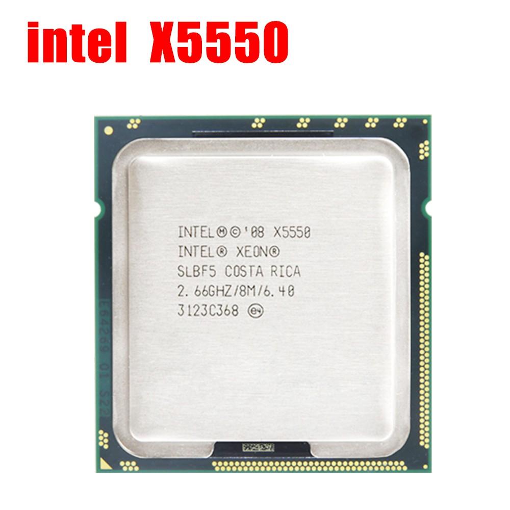 Intel Xeon 系列四核八線 Cpu X5550 X5560 E5620 X5570 和其他 E5620 E563